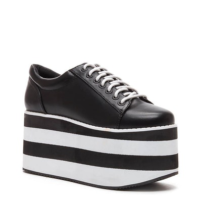 Acid Rock Black Platform Sneaker
