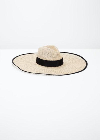 Woven Straw Sun Hat