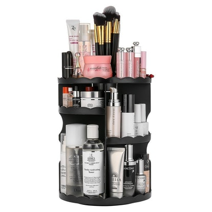 Jerrybox 360-Degree Rotating Makeup Organizer