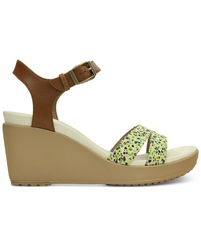 Women's Leigh II Ankle Strap Graphic Wedges