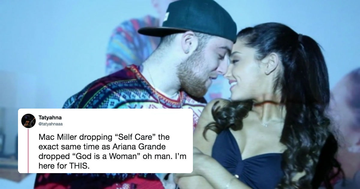 Is Self Care About Ariana Grande Mac Miller S New Song After Their Split Addresses His Dui