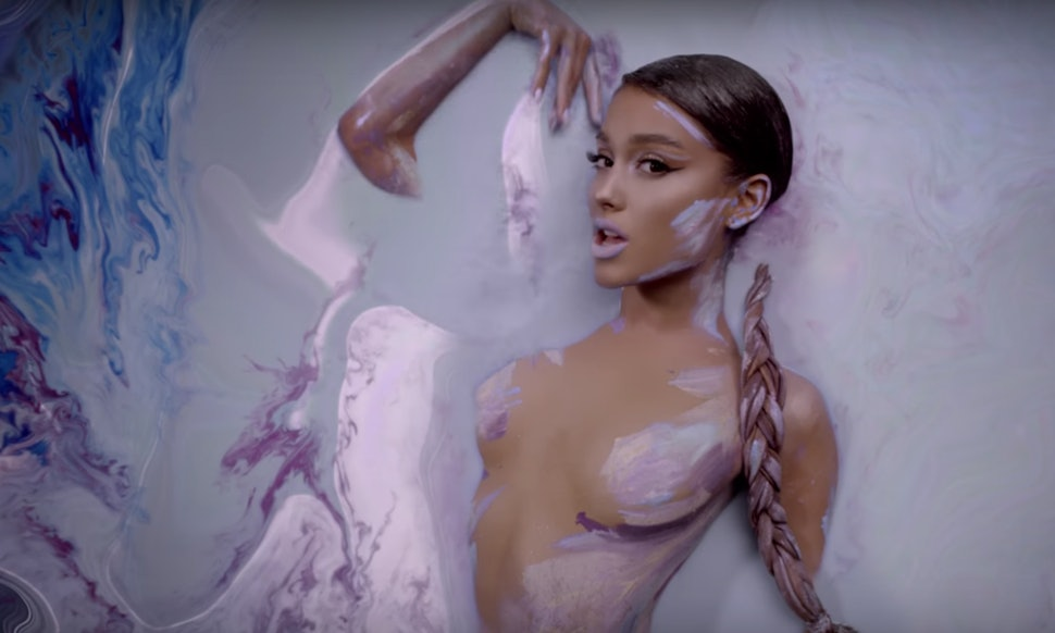 ariana grande s god is a woman video puts the singer on