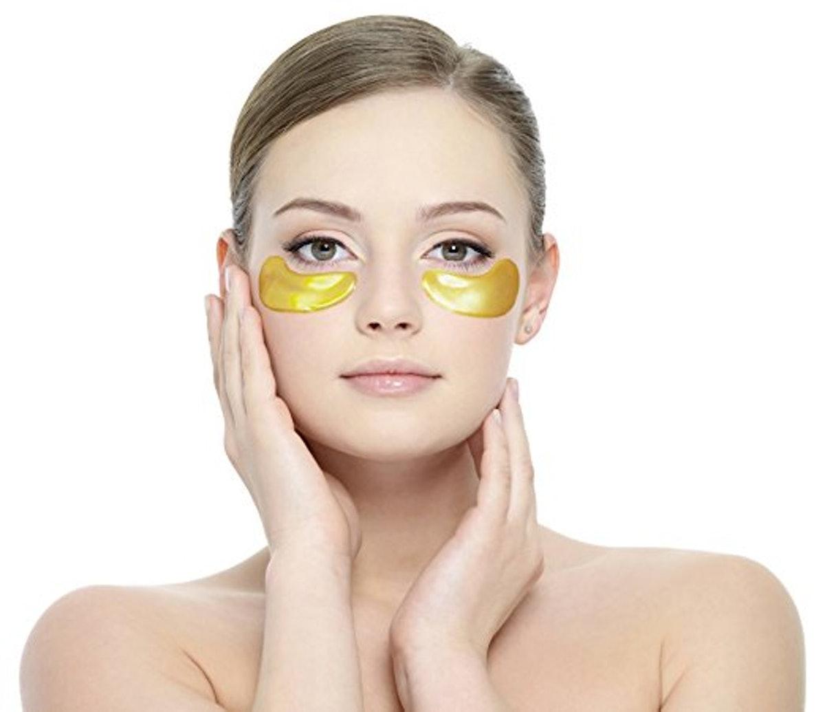 LA PURE 24K Gold Eye Treatment Mask