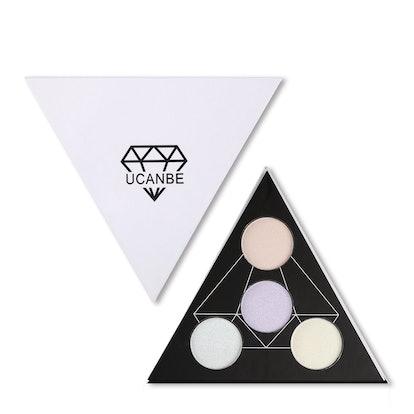 UCANBE Highlighter Palette Shimmer Kit