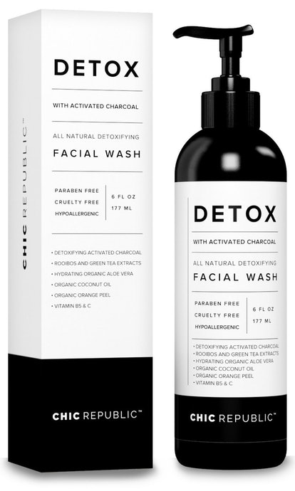 All Natural Activated Charcoal Facial Cleanser