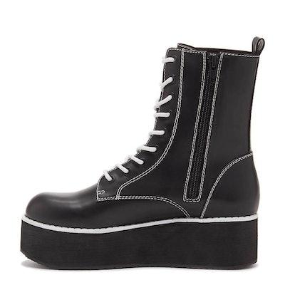 Rage Cali Black Platform Boot