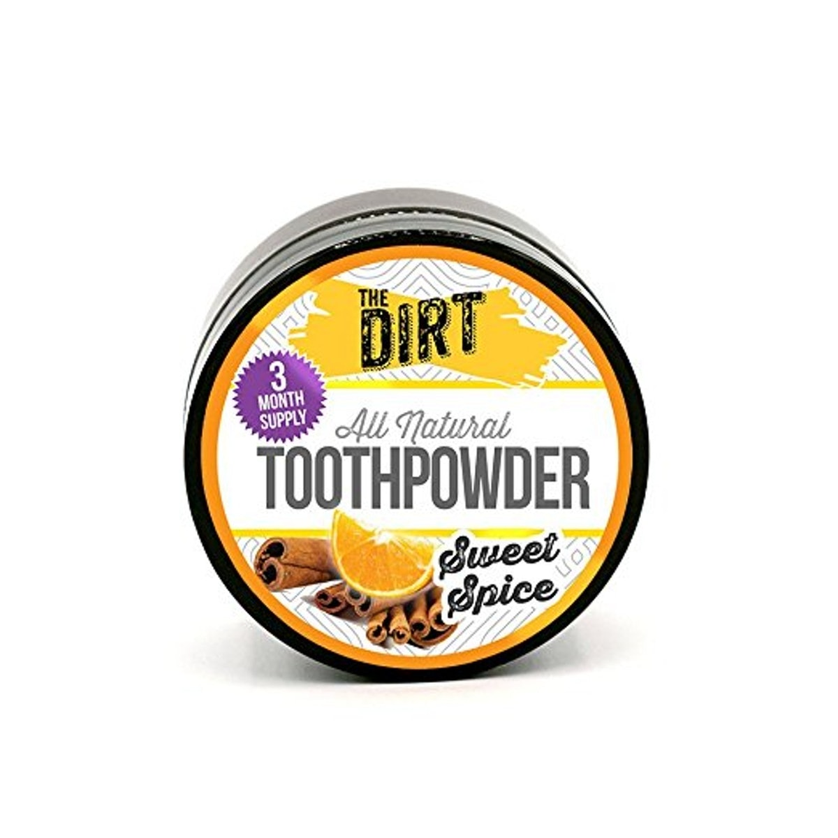 The Dirt All Natural Teeth Whitening Powder