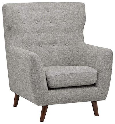 Rivet Hawthorne Mid-Century Tufted Modern Accent Chair