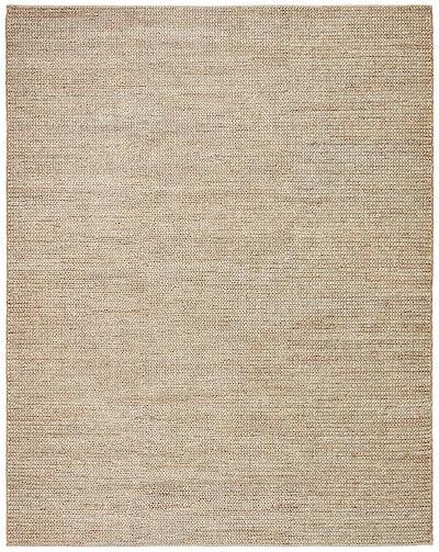 Stone & Beam Transitional Braided Jute Rug, 8' x 10', Sand