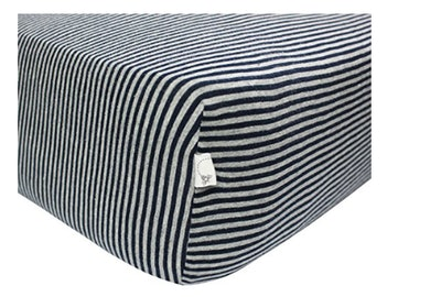 Stripe Fitted Crib Sheet