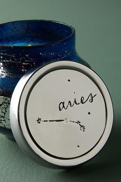 Capri Blue Mini Zodiac Candle
