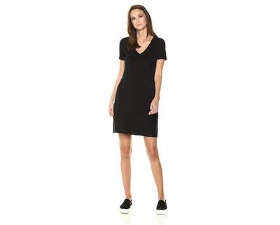 Daily Ritual Jersey Short-Sleeve T-Shirt Dress — 45% Off