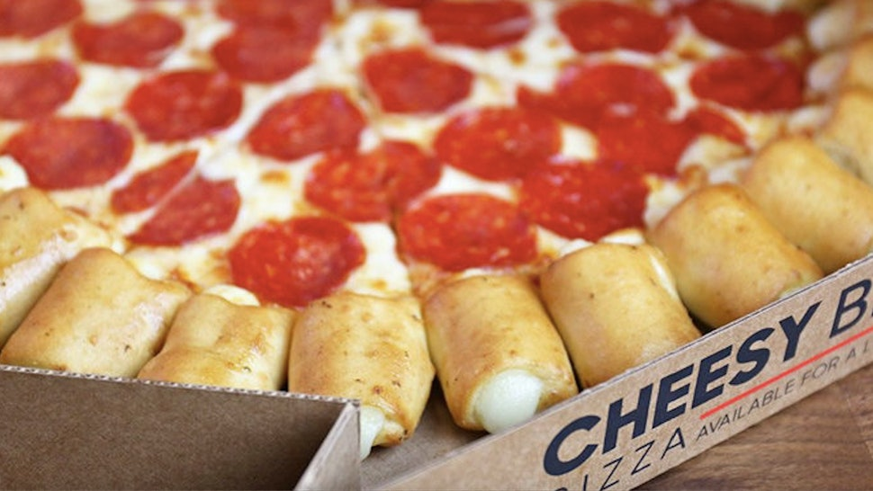 Pizza Hut S Cheesy Bites Pizza Is Back For A Limited Time It Looks