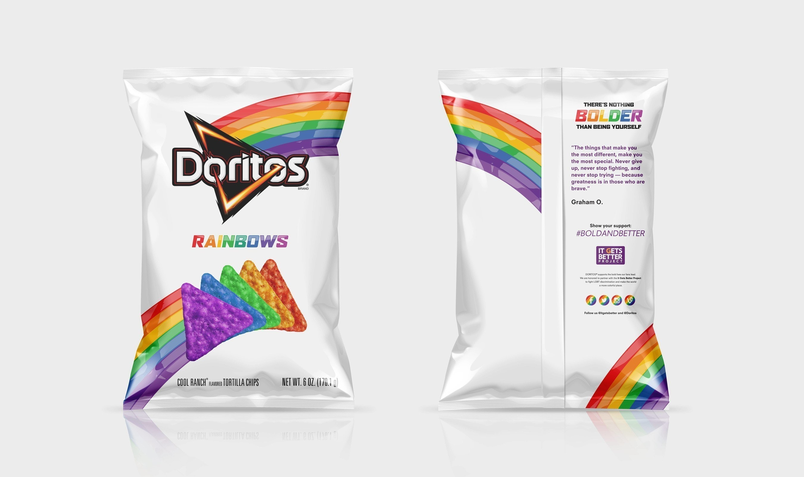 Rainbow Doritos Are Back, But Only In Mexico — Here's How You Can ...