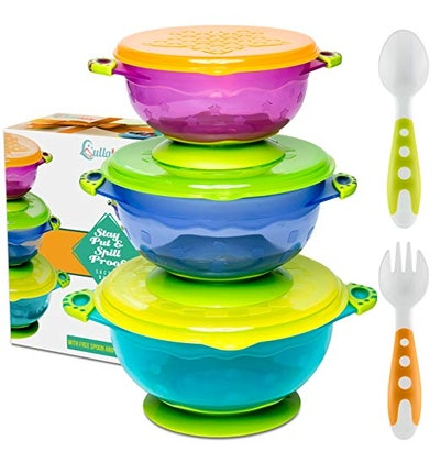 Suction Cup Bowls for Toddlers