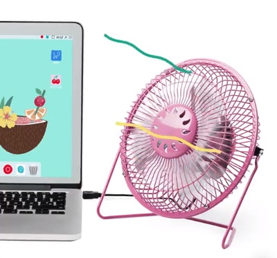 3. Desktop Fan