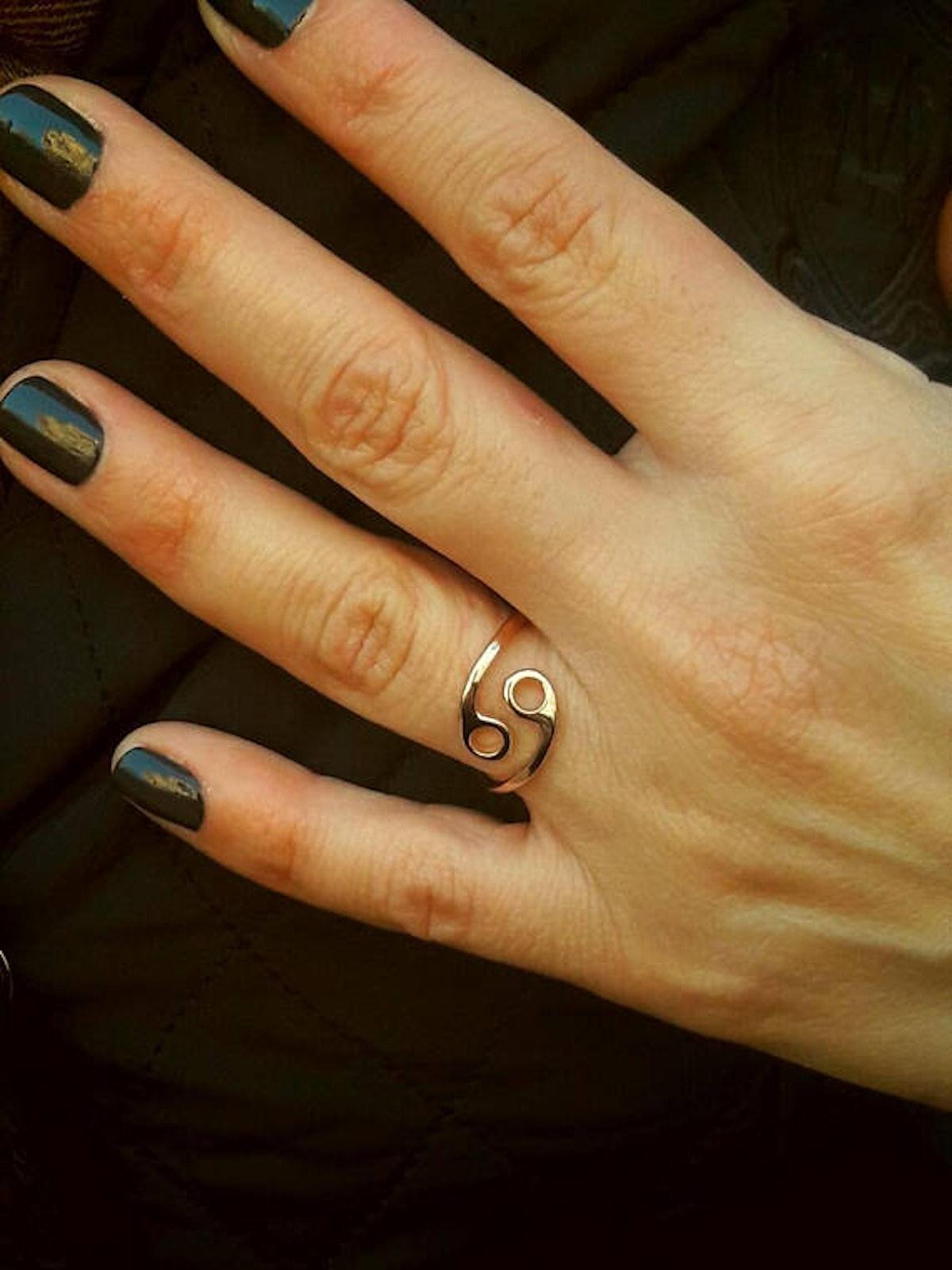 Handmade Zodiac Ring