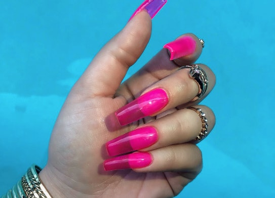Jelly Nails Are The Latest Viral Nail Trend \u0026 They Are SO \u002790s