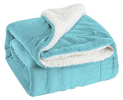 Bedsure Sherpa Throw Blanket