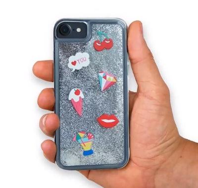 2. Glitter Phone Case