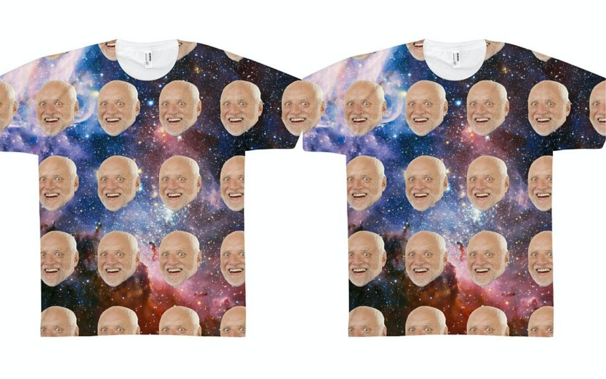 You Can Get A Custom T-Shirt Of Your Best Friend's Head Floating In Space