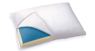 Sleep Innovations Reversible Gel Memory Foam Pillow — 32% Off