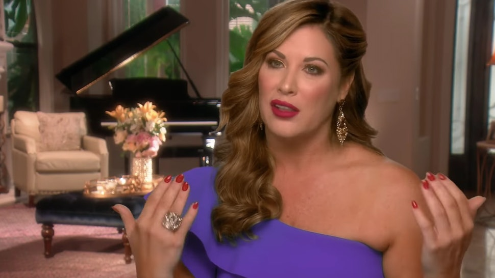 Real Housewives of Orange County Emily Simpson Confronts
