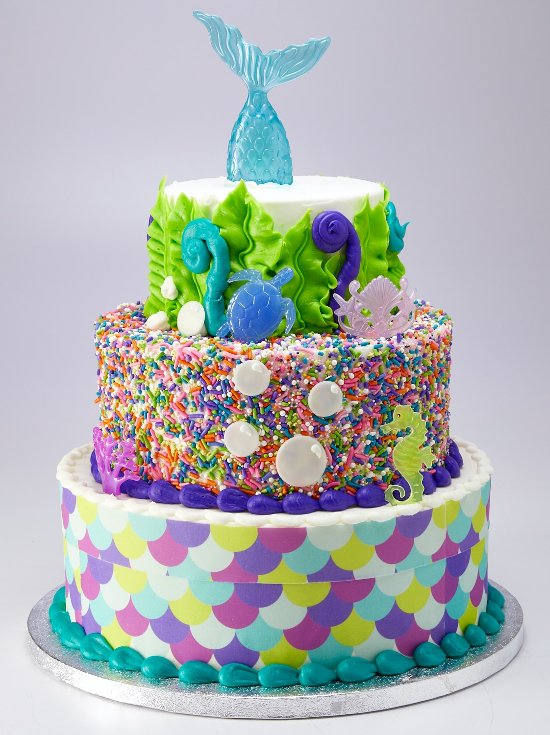 This 3 Tier Mermaid Cake From Sams Club Feeds 66 People And Costs
