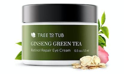 Tree To Tub Ginseng Green Tea Retinol Repair Eye Cream — 59% Off