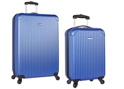 Travel Gear Hardside Spinner Luggage Set with Carry on — 30% off