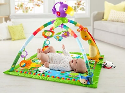 Fisher-Price Rainforest Music & Lights Deluxe Gym — 33% Off