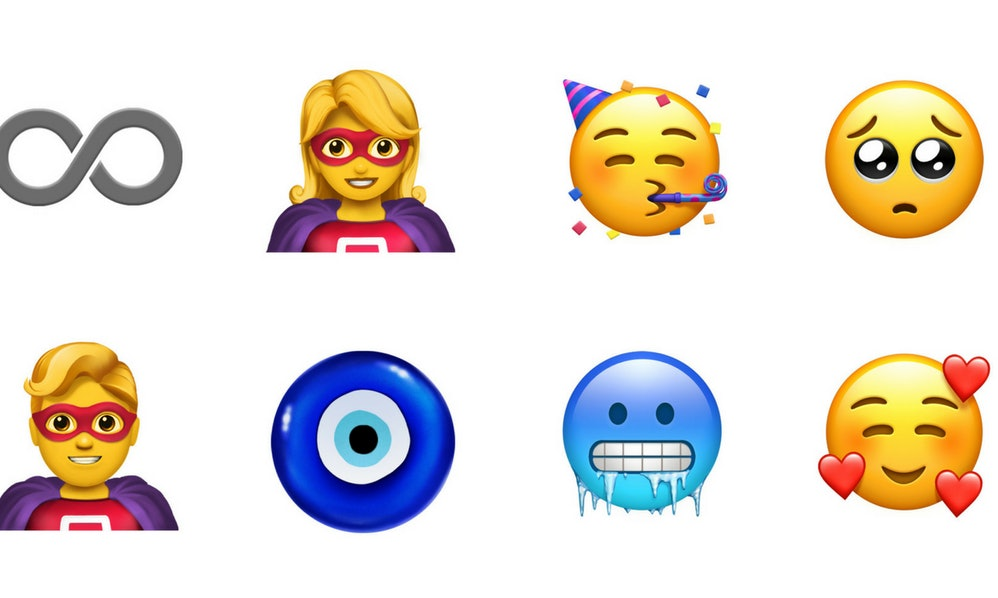 This Preview Of New Apple Emojis Has Every Character You Need