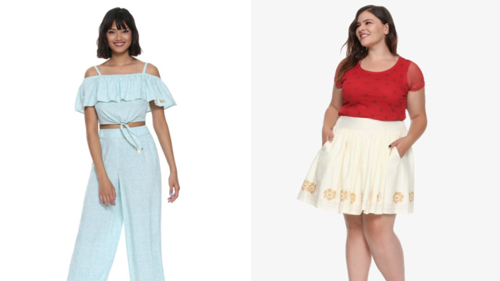 ecd9fd8bd681 Hot Topic s Disney Princess Collection Means Year-Round Costumes