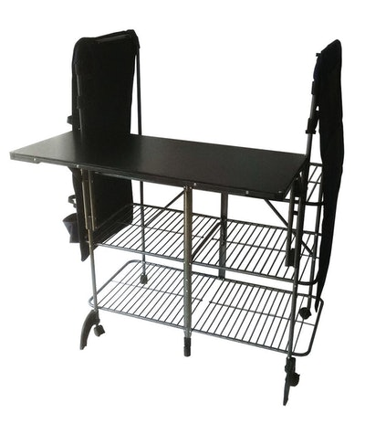 Pearington ZEN-22888 Portable Multipurpose Foldable Laundry, Crafting, and Storage Workstation