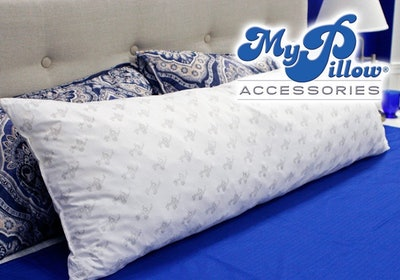 MyPillow Total Body Maternity Pregnancy Pillow