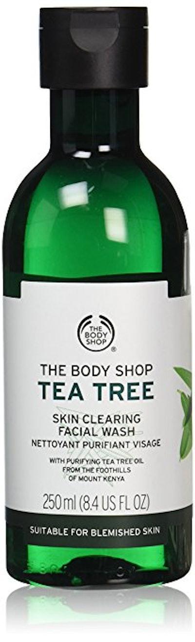 The Body Shop Tea Tree Skin Clearing Facial Wash, 8.4 Fl Oz