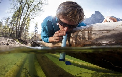 LifeStraw Personal Water Filter — 60% Off