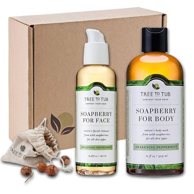 Tree To Tub Organic Face And Body Bath Set — 33% Off