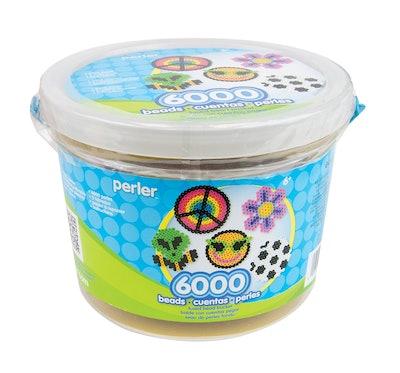 Perler 42766 Beads, 6000 Count Bucket