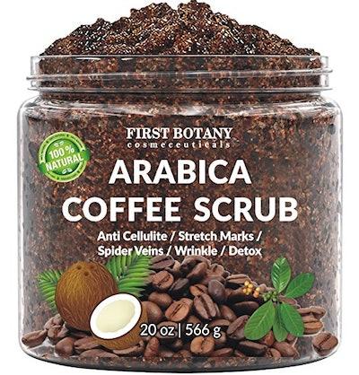 First Botany Pharmaceuticals Arabica Coffee Scrub