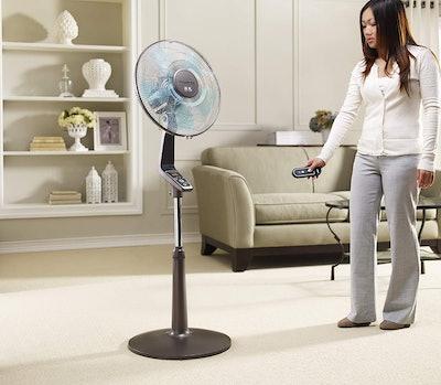 Rowenta Turbo Silence Oscillating Fan with Remote Control