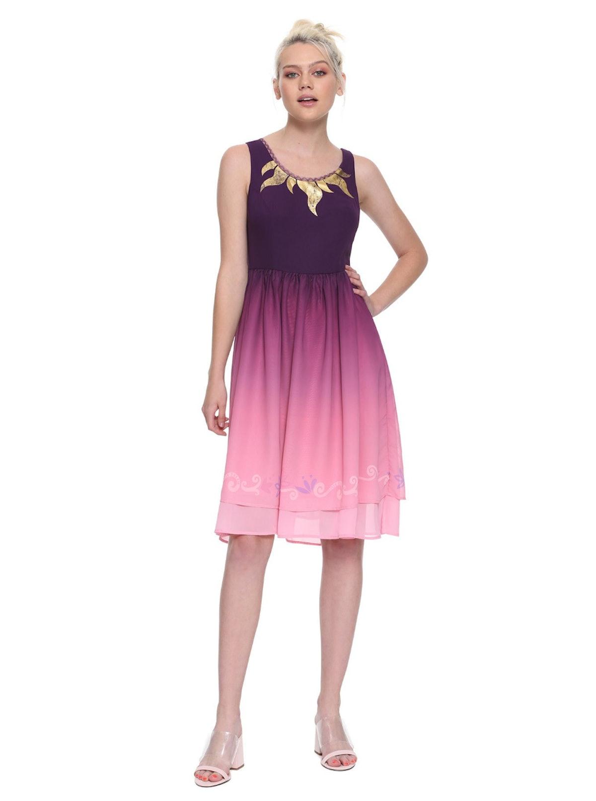 Tangled Ombré Dress