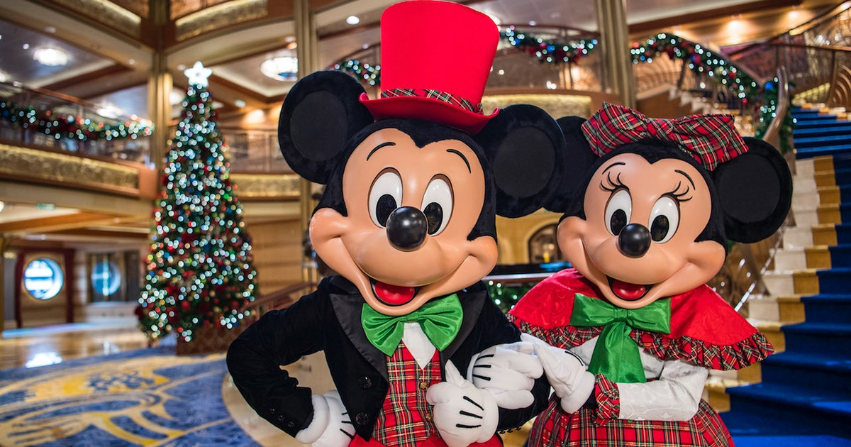 the disney holiday cruise dates for 2018 have been announced it sounds like a winter daydream - When Does Disney Decorate For Christmas 2018