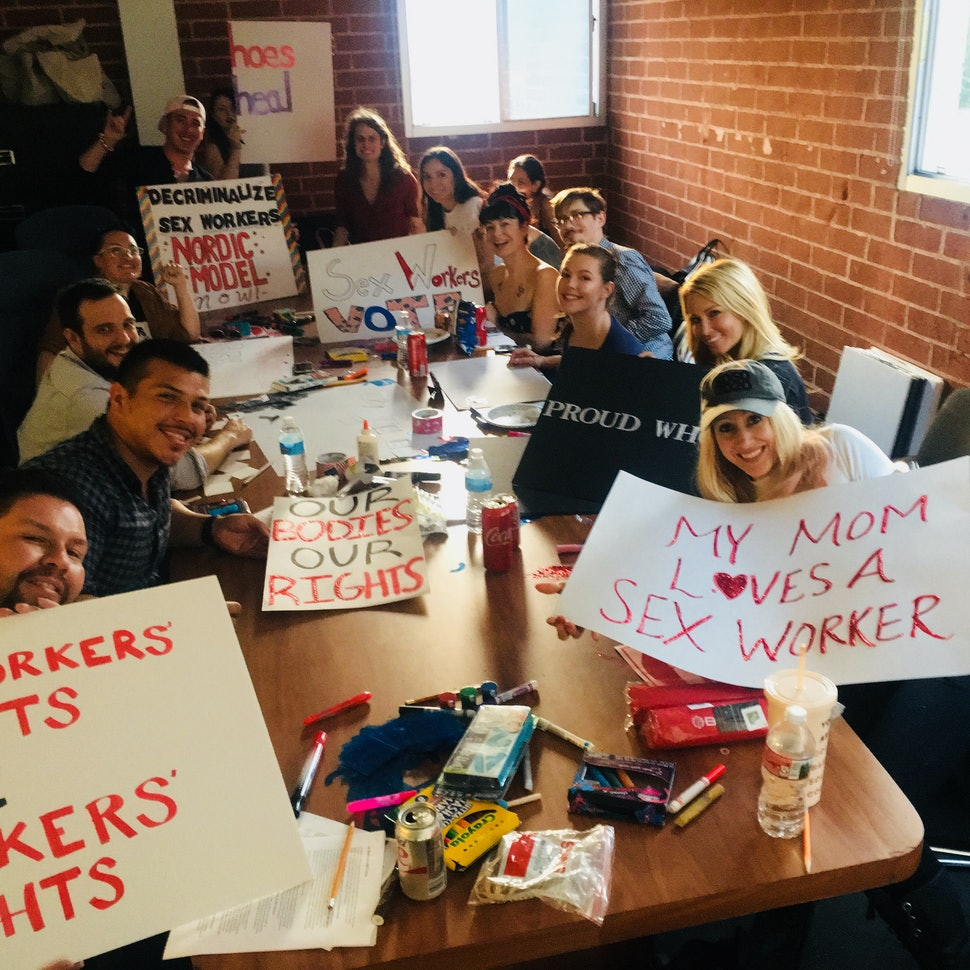 What It Was Like To Help Organize The Let Us Survive March On International Whores Day