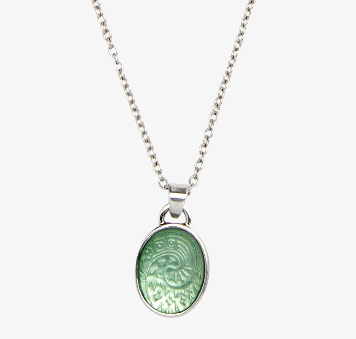 Moana Heart of Te Fiti Dainty Necklace