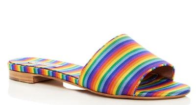 Women's Sprinkles Stripe Slide Sandals