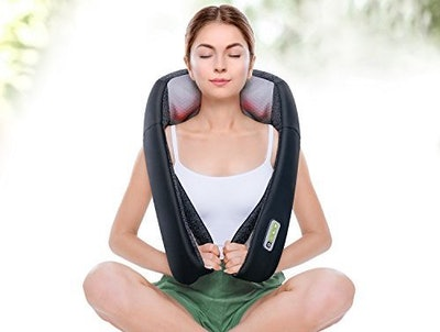 Mynt Cordless Neck & Shoulder Massager with Heat — 50% Off