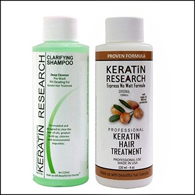 Keratin Research Complex Brazilian Keratin Hair Treatment