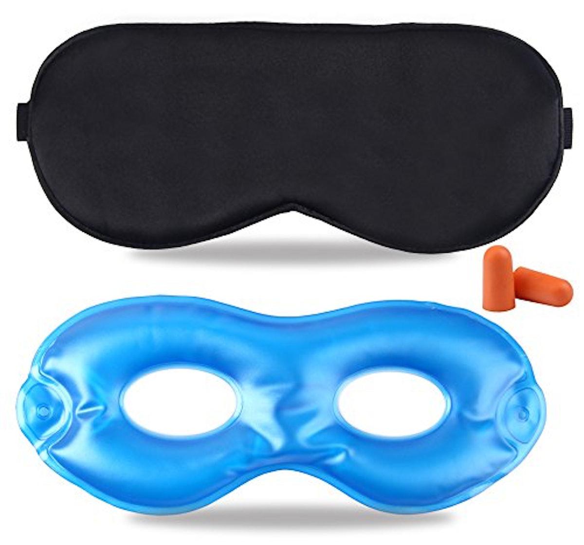 Fitglam Pure Silk Sleep Mask