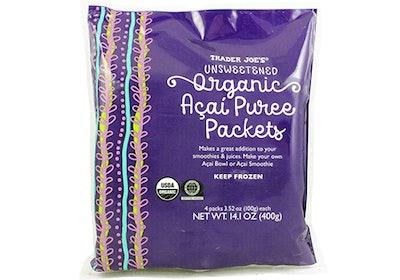 Unsweetened Organic Açaí Purée Pack